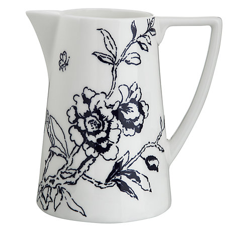 Buy Jasper Conran for Wedgwood Chinoiserie Cream Jug, Blue Online at johnlewis.com