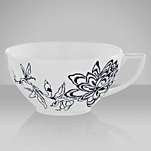 Buy Jasper Conran for Wedgwood Chinoiserie Teacup, Blue Online at johnlewis.com