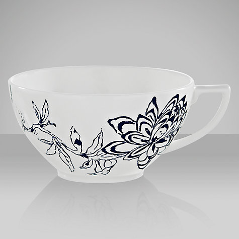 Buy Jasper Conran for Wedgwood Chinoiserie Teacup, 0.23L, Blue Online at johnlewis.com