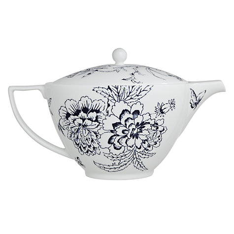 Buy Jasper Conran for Wedgwood Chinoiserie Teapot, 1.2L, Blue Online at johnlewis.com