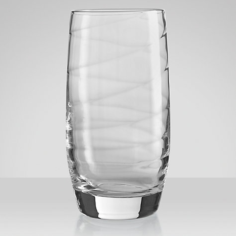 Buy John Lewis Voluta Highballs, Set of 4, Clear Online at johnlewis.com