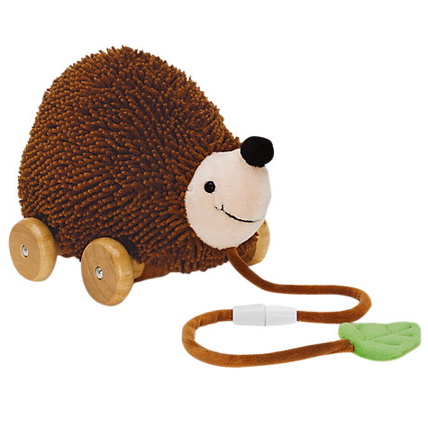 Buy Teddykompaniet Diinglisar Pull Along Hedgehog Online at johnlewis.com