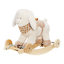 Buy Teddykompaniet Rabbit Rock and Roll Ride-on Online at johnlewis.com