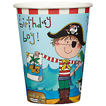 Buy Rachel Ellen Pirate Paper Cups, Pack of 8 Online at johnlewis.com