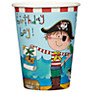 Rachel Ellen Pirate Paper Cups, Pack of 8