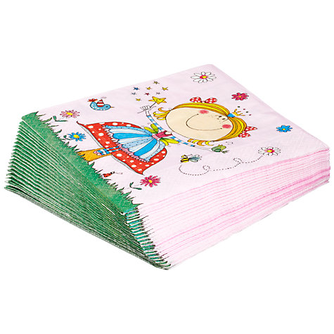 Buy Rachel Ellen Fairy Napkins, Pack of 8 Online at johnlewis.com