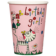 Buy Rachel Ellen Fairy Paper Cups, Pack of 8 Online at johnlewis.com