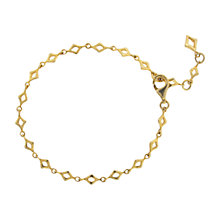 Buy Dinny Hall 18ct Gold Vermeil Almaz Bracelet, Gold Online at johnlewis.com
