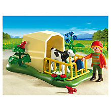 Buy Playmobil Calf Feeder Online at johnlewis.com