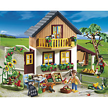 Buy Playmobil Farmhouse with Market Online at johnlewis.com