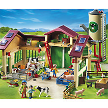 Buy Playmobil Barn with Silo Online at johnlewis.com