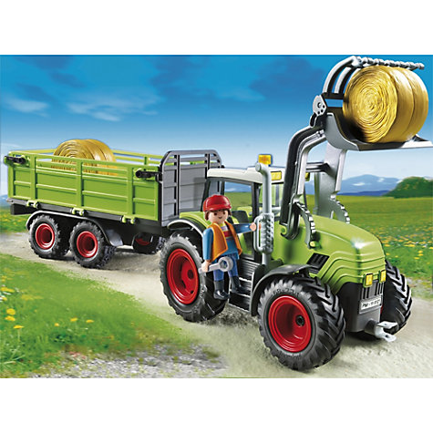Buy Playmobil Hay Baler with Trailer Online at johnlewis.com
