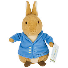 Buy Peter Rabbit Bean Soft Toy Online at johnlewis.com