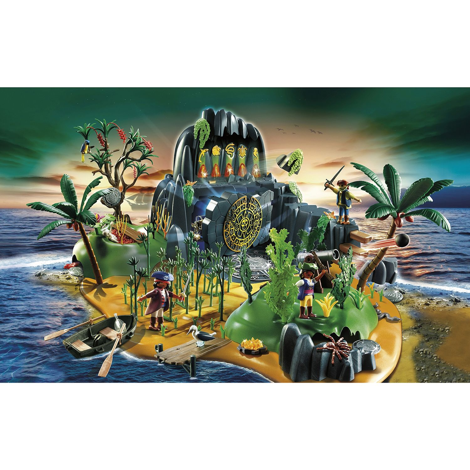 Click here for Playmobil Pirates Pirate Adventure Island