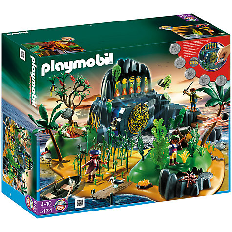 Buy Playmobil Pirates Pirate Adventure Island Online at johnlewis.com