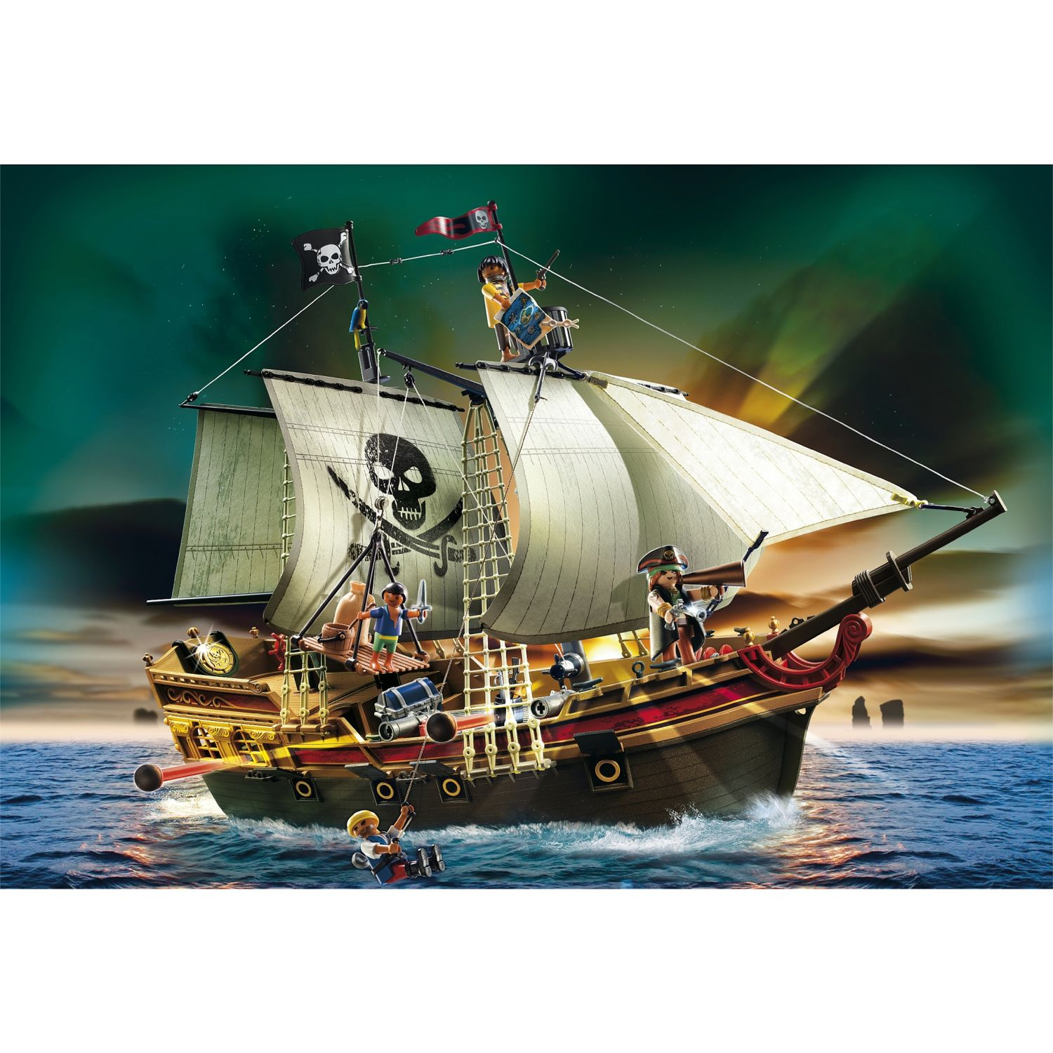 Click here for Playmobil Pirates Pirates' Ship