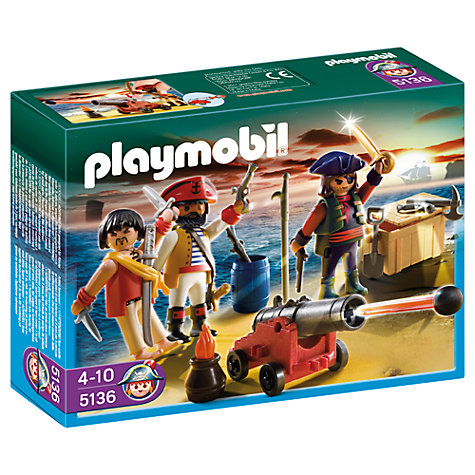 Buy Playmobil Pirates Pirate Commander and Armoury Online at johnlewis.com