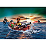 Playmobil Pirates Pirate Rowing Boat and Shark