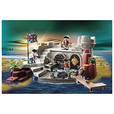 Click here for Playmobil Pirates Soldiers' Fort with Dungeon
