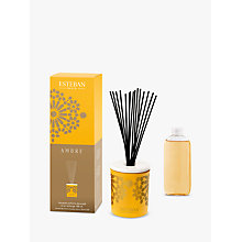 Buy Esteban Decorative Ambre Scented Diffuser, 100ml Online at johnlewis.com