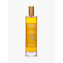 Buy Esteban Ambre Room Spray, 100ml Online at johnlewis.com