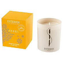 Buy Esteban Scented Candle Refill, Ambre Online at johnlewis.com