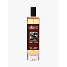 Buy Esteban Teck & Tonka Room Spray, 100ml Online at johnlewis.com