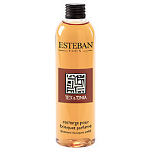 Buy Esteban Teck & Tonka Scented Bouquet Diffuser Refill, 250ml Online at johnlewis.com