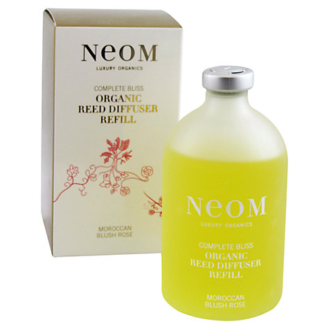 Buy Neom Complete Bliss Diffuser Refill, Moroccan Blush Rose, 100ml Online at johnlewis.com