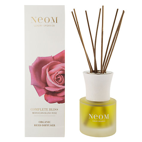 Buy Neom Complete Bliss Moroccan Blush Rose Scented Diffuser, 100ml Online at johnlewis.com