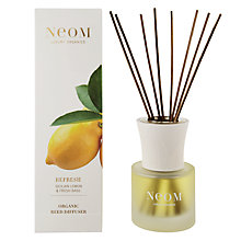 Buy Neom Refresh Sicilian Lemon & Fresh Basil Diffuser, 100ml Online at johnlewis.com