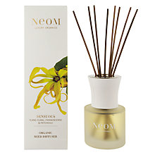 Buy Neom Sensuous Ylang Ylang, Frankincense & Patchouli Scented Diffuser, 100ml Online at johnlewis.com