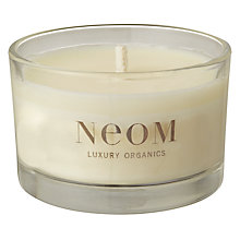 Buy Neom Sensuous Travel Candle, Ylang Ylang, Frankincense & Patchouli Online at johnlewis.com