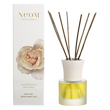 Buy Neom Sumptuous Diffuser, Wild Rose & Neroli Online at johnlewis.com