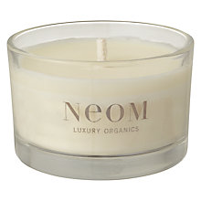 Buy Neom Sumptuous Wild Rose & Neroli Scented Travel Candle Online at johnlewis.com