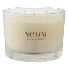 Buy Neom Sumptuous Wild Rose & Neroli Scented Candle, 3 Wick Online at johnlewis.com