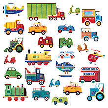 Buy Jomoval Transport Wall Stickers Online at johnlewis.com
