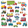 Jomoval Transport Wall Stickers