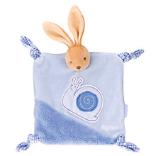 Buy Kaloo Doudou Rabbit, Blue Online at johnlewis.com