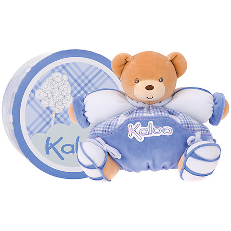 Buy Kaloo Medium Chubby Bear, Blue Online at johnlewis.com