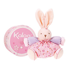 Buy Kaloo Medium Chubby Rabbit, Pink Online at johnlewis.com