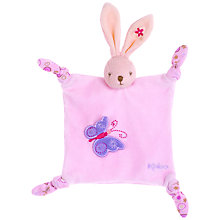 Buy Kaloo Doudou Rabbit, Pink Online at johnlewis.com