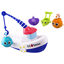 Buy Sassy Fishing Boat Bath Toy Online at johnlewis.com