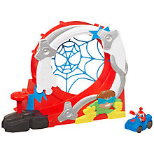 Buy Playskool Heroes Spider-Man Stuntacular Speed Loop Online at johnlewis.com