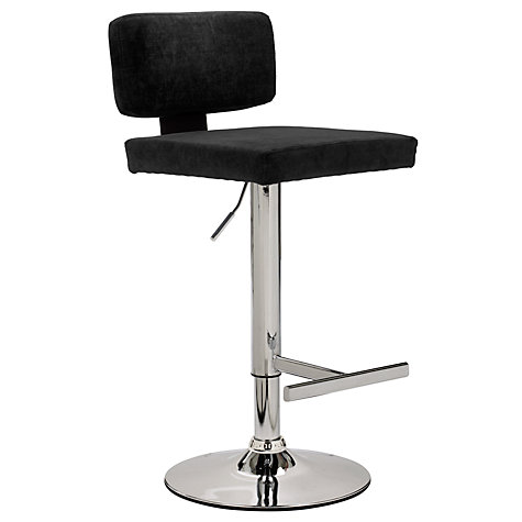 Buy John Lewis Tee Bar Stool, Black Online at johnlewis.com