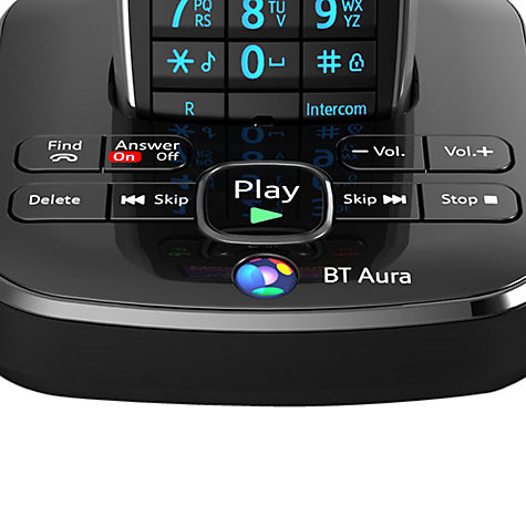 Buy BT Aura 1500 Digital Telephone and Answering Machine, Trio DECT Online at johnlewis.com