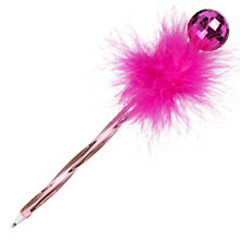 Buy John Lewis Disco Ballpoint Pen, Pink Online at johnlewis.com