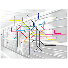 Buy Mr Perswall Subway Wall Mural, Multi Online at johnlewis.com