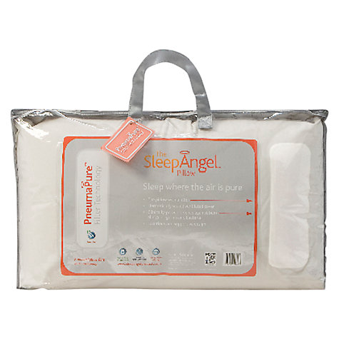 Buy SleepAngel Microfibre Standard Pillow Online at johnlewis.com