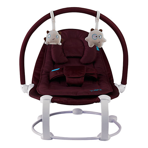 Buy BabaBing Lobo Bouncer, Aubergine Online at johnlewis.com